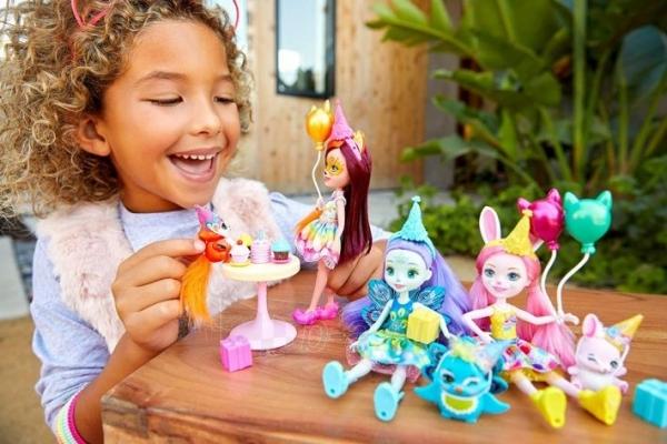 Lėlė GJX33 Enchantimals Bunny Blooms Playset with Fluffy Bunny Doll MATTEL Волшебный сад Флаффи Кр Paveikslėlis 4 iš 6 310820252837