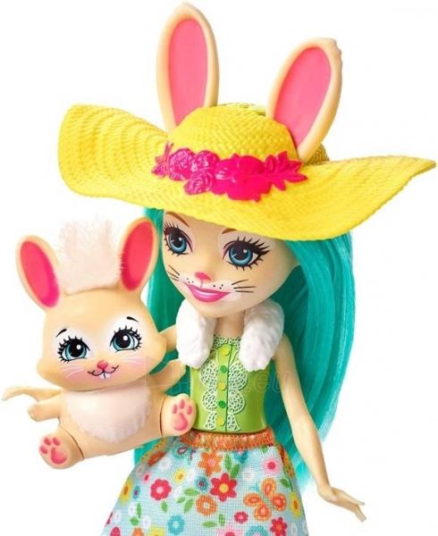 Lėlė GJX33 Enchantimals Bunny Blooms Playset with Fluffy Bunny Doll MATTEL Волшебный сад Флаффи Кр Paveikslėlis 6 iš 6 310820252837