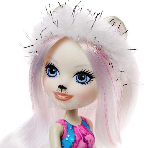 Lėlė GJX47 / GJX43 Enchantimals Pristina Polar Bear Doll & Family Paveikslėlis 5 iš 6 310820252910