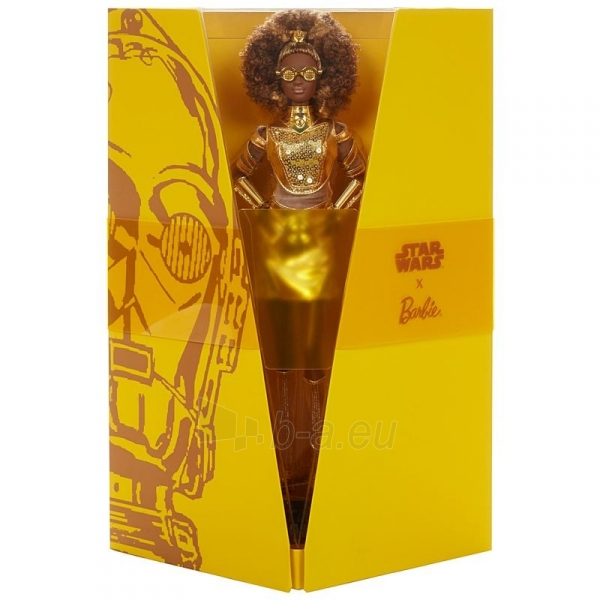 Lėlė GLY30 Barbie Exclusive Star Wars™ C-3PO x Barbie®Doll Paveikslėlis 2 iš 6 310820230562