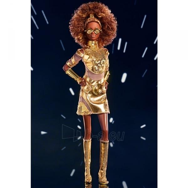 Lėlė GLY30 Barbie Exclusive Star Wars™ C-3PO x Barbie®Doll Paveikslėlis 6 iš 6 310820230562