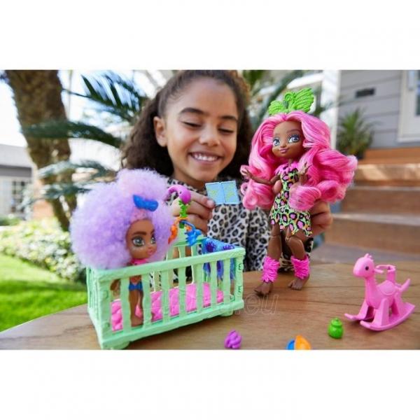 Lėlė GNL92 Cave Club Wild About Babysitting Playset Mattel Paveikslėlis 1 iš 6 310820252877