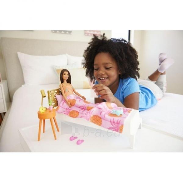 Lėlė GRG86 / GTD87 Mattel Barbie Doll And Bedroom Furniture Playset Paveikslėlis 1 iš 6 310820252920