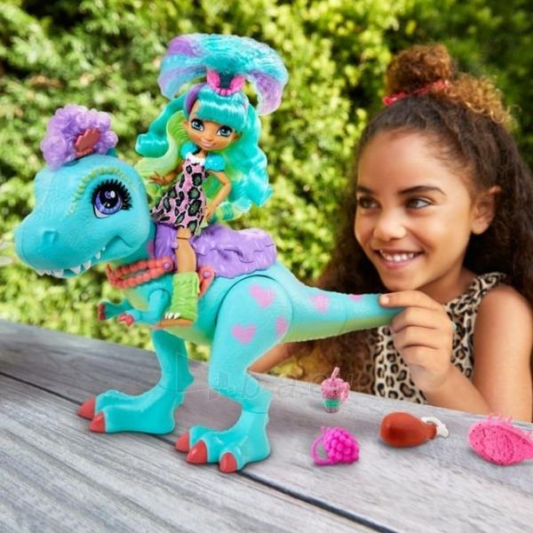 Lėlė GTL69 Cave Club Rockelle & Tyrasaurus Doll & Figure MATTEL Paveikslėlis 1 iš 5 310820252880