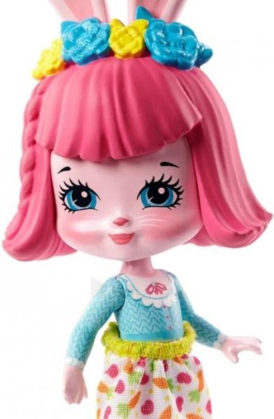 Lėlė GTM47 / GTM46 Enchantimals Bree Bunny and Cabana Doll with Pet Matryoshka Surprise and Toy Cabin MAT Paveikslėlis 4 iš 6 310820252922