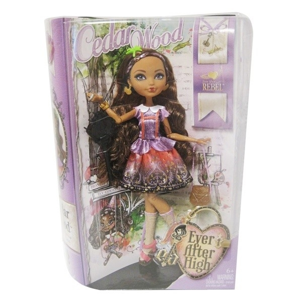 Lėlė Mattel Ever After High Cedar Wood BBD11 / BBD41 Paveikslėlis 1 iš 3 310820050164