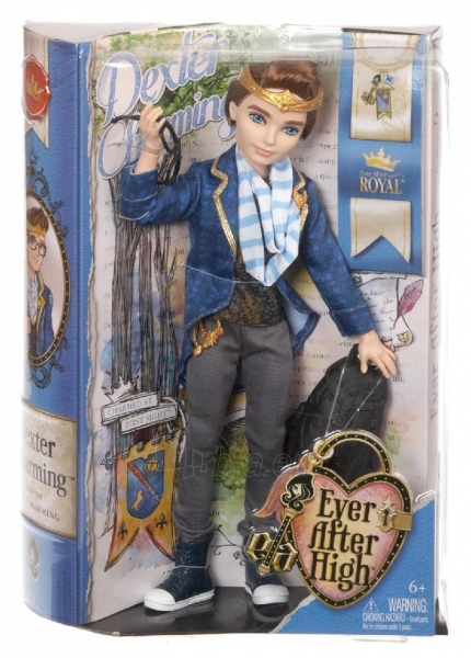 Lėlė Mattel Ever After High Dexter Charming CBR46 / CBT33 Paveikslėlis 1 iš 1 310820050165