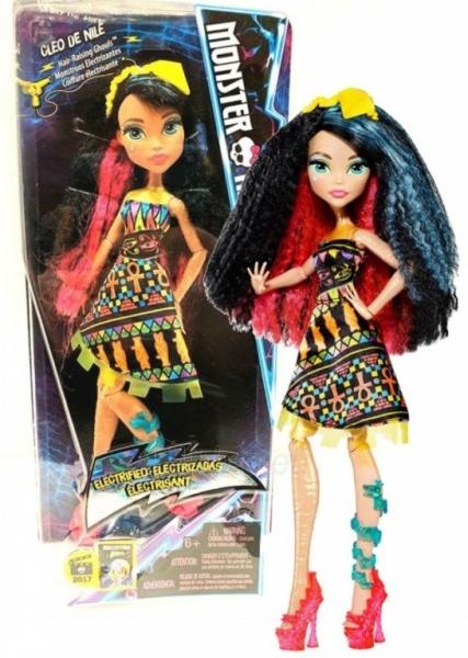 Lėlė Mattel Monster High Cleo De Nile DXX95 / DXX96 Paveikslėlis 1 iš 1 310820137226