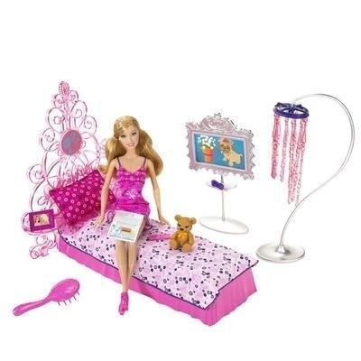 Lėlė su miegamojo baldais Mattel BARBIE L9483 (N4894) Paveikslėlis 1 iš 1 250710900399