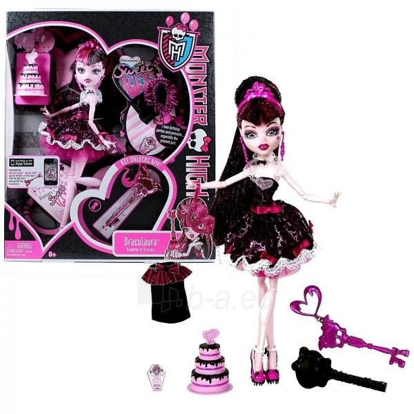 Lėlė W9188 / W9189 Monster High Sweet 1600 Draculaura Paveikslėlis 1 iš 1 250710900263