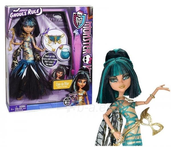 Lėlė X3718 / X3712 Monster High GHOULS RULE Cleo De Nile Paveikslėlis 1 iš 1 250710900271
