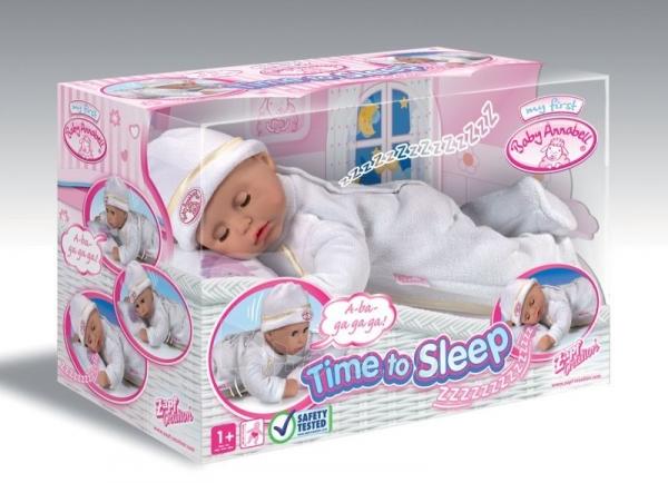 Lelle Zapf Creation Baby Born 790281 Baby Annabell Time to sleep Paveikslėlis 2 iš 2 250710900543