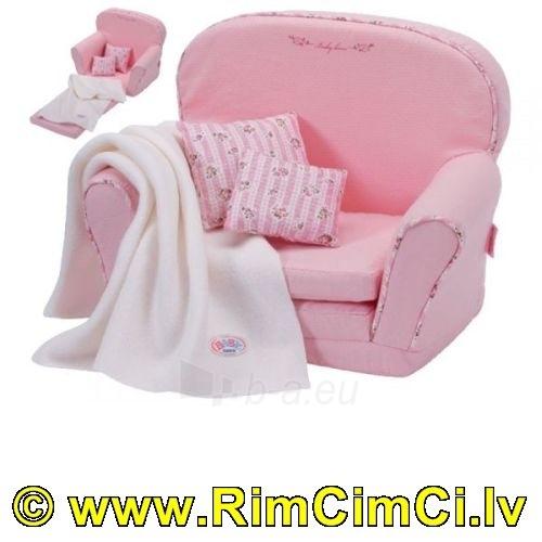 Lėlės fotelis ZAPF CREATION 808405 BABY BORN® SOFA BED Paveikslėlis 1 iš 3 250710900520