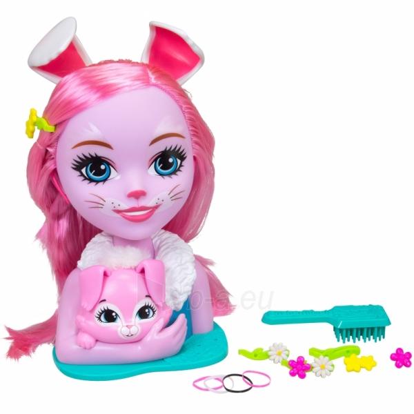 Lėlės galva šukuosenoms Bree Bunny | Enchantimals | Simba Paveikslėlis 1 iš 3 310820157306