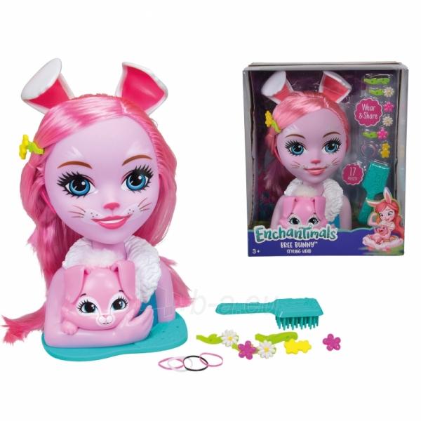 Lėlės galva šukuosenoms Bree Bunny | Enchantimals | Simba Paveikslėlis 2 iš 3 310820157306