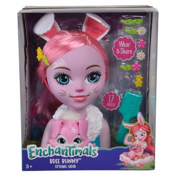 Lėlės galva šukuosenoms Bree Bunny | Enchantimals | Simba Paveikslėlis 3 iš 3 310820157306