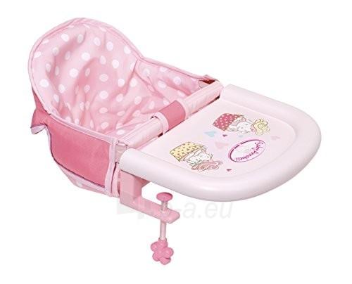 Lėlės kėdutė 701126 Zapf Creation Baby Annabell Table Seat Paveikslėlis 2 iš 6 310820137233