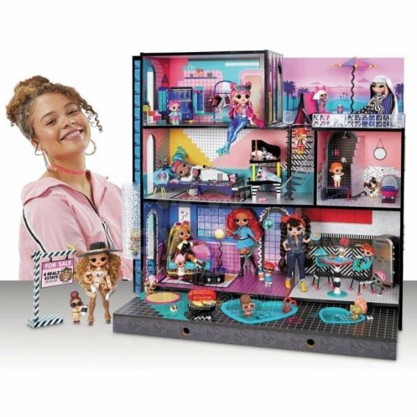 Lėlės namas 570202 LOL Surprise OMG House Домик для больших кукол Модный особняк с бассейном Paveikslėlis 1 iš 6 310820252886