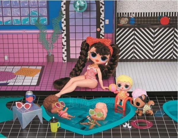 Lėlės namas 570202 LOL Surprise OMG House Домик для больших кукол Модный особняк с бассейном Paveikslėlis 4 iš 6 310820252886