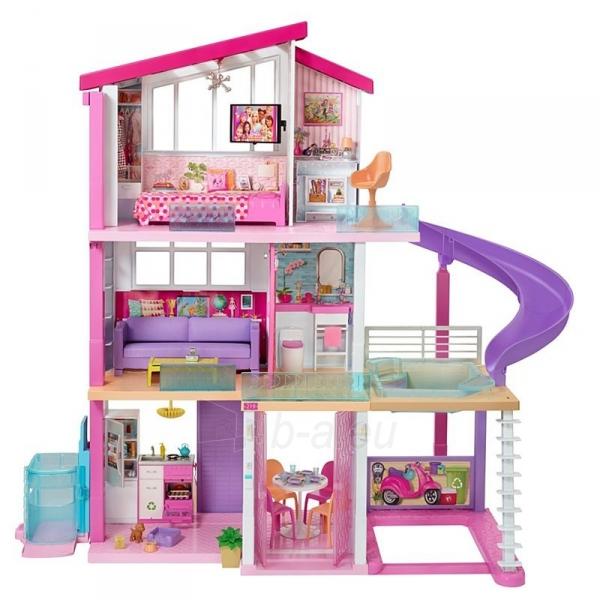Lėlės namas GNH53 Barbie®Dreamhouse™ Dollhouse with Pool, Slide and Wheelchair Accessible Elevator Paveikslėlis 6 iš 6 310820230582