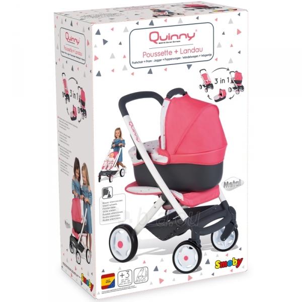 Lėlės vežimėlis | 3in1 Maxi Cosi Quinny 2018 | Smoby Paveikslėlis 7 iš 11 310820157313
