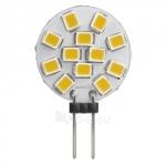 Lempa LED G4 2W, 3000K,140lm, 160°, 50000h, 12V, SMD2835, MAX-LED Paveikslėlis 1 iš 1 310820055808