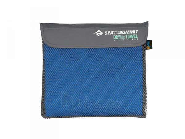 Lengvas mikropluošto rankšluostis Drylite micro towel L 120 x 60 Pilka Paveikslėlis 3 iš 4 310820231644