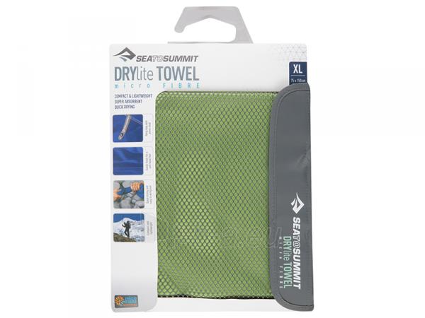 Lengvas mikropluošto rankšluostis Drylite micro towel XL 150 x 75 Pilka Paveikslėlis 4 iš 4 310820231646