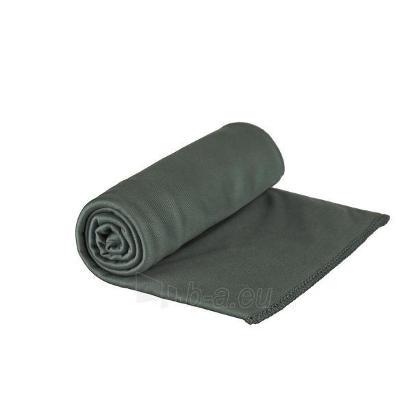 Lengvas mikropluošto rankšluostis Pocket Towel XL 150 x 75 Šviesiai žalia Paveikslėlis 2 iš 7 310820231675