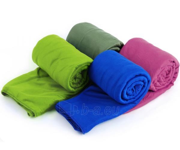 Lengvas mikropluošto rankšluostis Pocket Towel XL 150 x 75 Šviesiai žalia Paveikslėlis 4 iš 7 310820231675