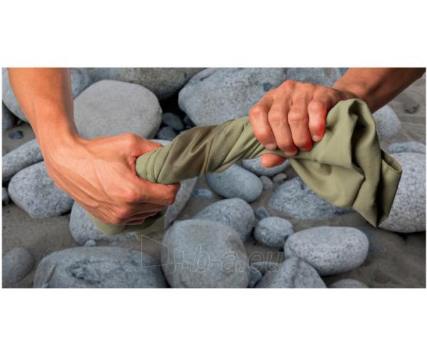 Lengvas mikropluošto rankšluostis Pocket Towel XL 150 x 75 Šviesiai žalia Paveikslėlis 7 iš 7 310820231675