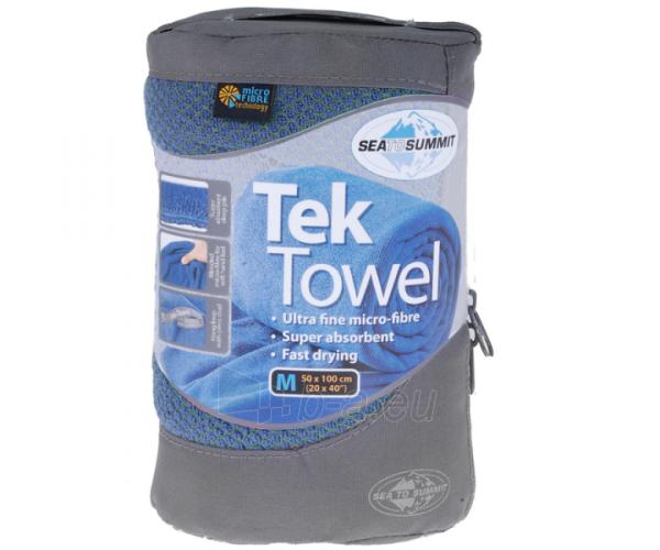 Lengvas mikropluošto rankšluostis Tek towel L 120 x 60 Mėlyna Paveikslėlis 5 iš 6 310820231578