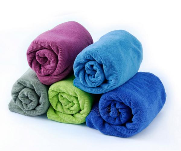 Lengvas mikropluošto rankšluostis Tek towel L 120 x 60 Mėlyna Paveikslėlis 6 iš 6 310820231578