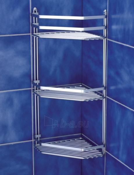 Lentynėlė voniai kampinė triguba 20x20x50 chrom 576-90 Paveikslėlis 1 iš 1 310820047316