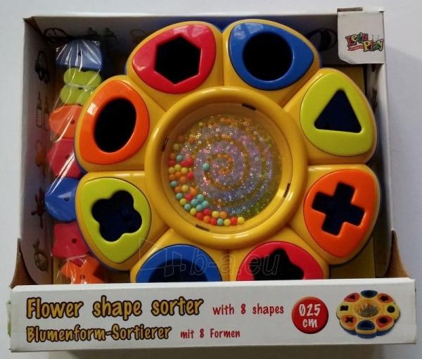 Let`s Play Flower shape sorter aktyvus centras 31074 Paveikslėlis 1 iš 1 310820024596