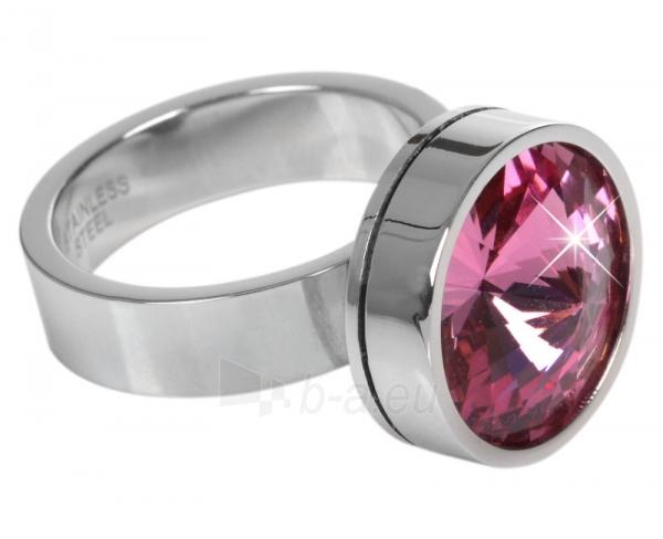 Levien nerūdijančio plieno žiedas Change & Go se 3 krystaly na výměnu (Dydis: 56 mm) Paveikslėlis 2 iš 6 310820023312