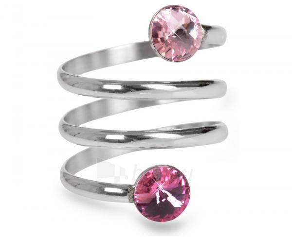Levien žiedas spiralė Rivoli Light Rose & Rose (Dydis: 59 mm) Paveikslėlis 1 iš 3 310820025711
