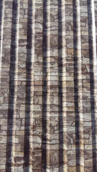 Lietskardė 65x50 mm, plytų imitacija Paveikslėlis 2 iš 2 310820038730