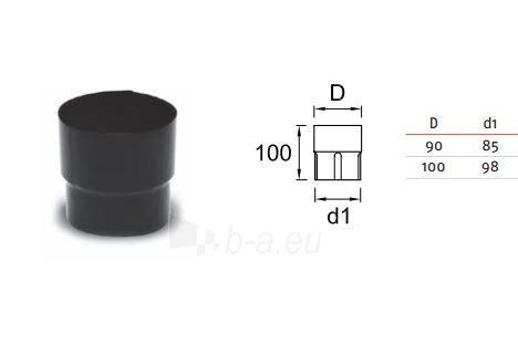 Lietvamzdžio jungtis Ruukki 100mm Paveikslėlis 1 iš 2 310820024642
