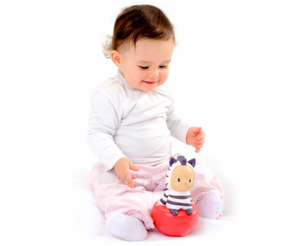 Linguojantis žaisliukas  - zebras | Cotoons | Smoby Paveikslėlis 1 iš 4 30024800240