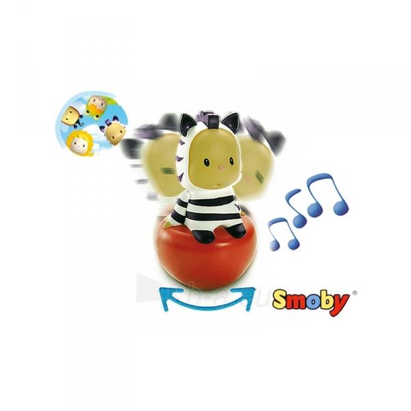Linguojantis žaisliukas  - zebras | Cotoons | Smoby Paveikslėlis 4 iš 4 30024800240