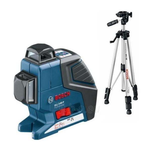 Linijų lazeris su stovu GLL 2-80 P + BS 150 Professional Paveikslėlis 1 iš 1 300126000020