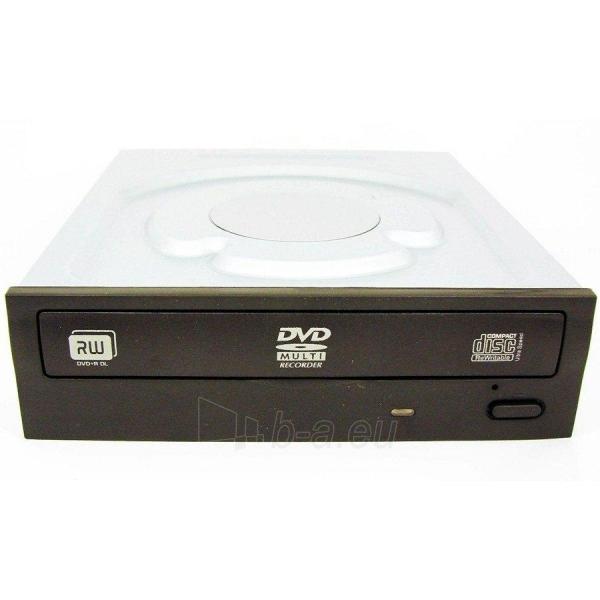 LITE ON DVDRW 24x SATA, black, bulk Paveikslėlis 1 iš 1 250255300228