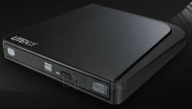 LITE-ON DVDRW 8X RET EXT BLACK SLIM USB Paveikslėlis 1 iš 1 250255300081