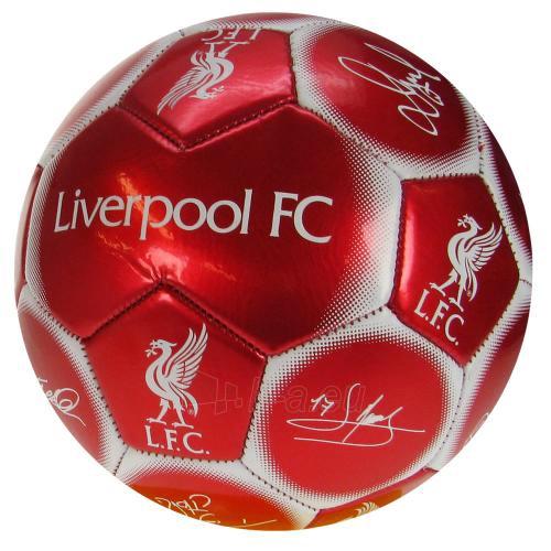 Liverpool F.C. futbolo kamuolys (Autografai) Paveikslėlis 1 iš 4 251009000542