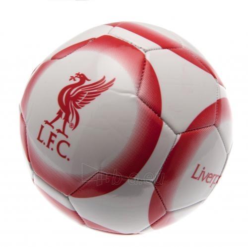 Liverpool F.C. futbolo kamuolys (Balta-raudona) Paveikslėlis 1 iš 4 251009001281