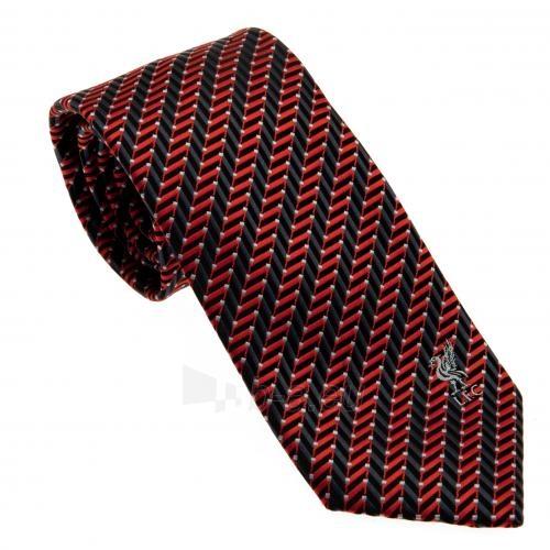 Liverpool F.C. kaklaraištis (Juoda su raudona) Paveikslėlis 1 iš 4 251009000551