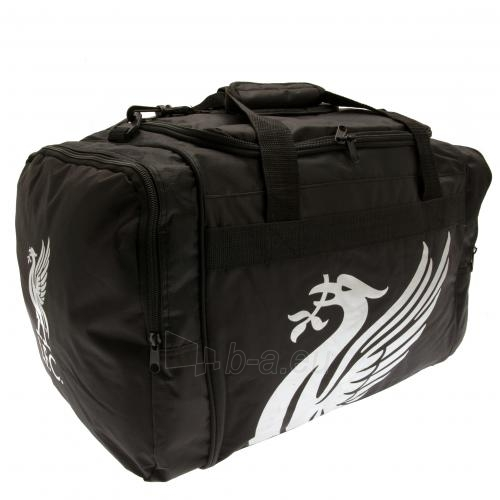 Liverpool F.C. kelioninis krepšys (Juodas) Paveikslėlis 1 iš 2 310820115265