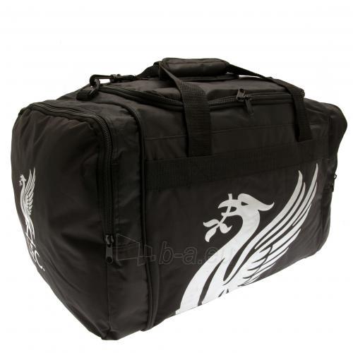 Liverpool F.C. kelioninis krepšys (Juodas) Paveikslėlis 2 iš 2 310820115265