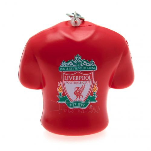 Liverpool F.C. minkštas marškinėlių formos raktų pakabukas Paveikslėlis 1 iš 4 251009000575